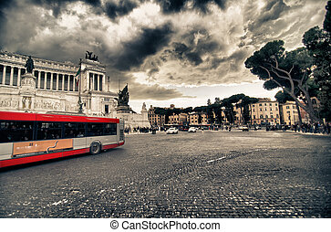 Bus Tour in Rome