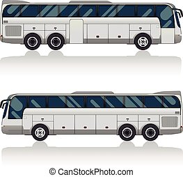 bus, tourist