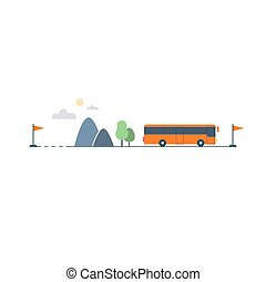 Bus Transfer And Transportation