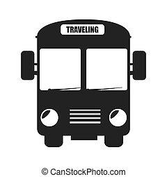 bus transport vehicle