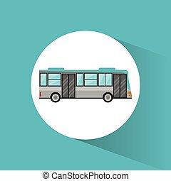 bus transport vehicle image