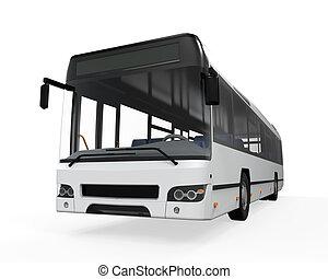 bus urbano, isolato