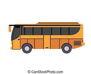 bus vehicle transport public icon