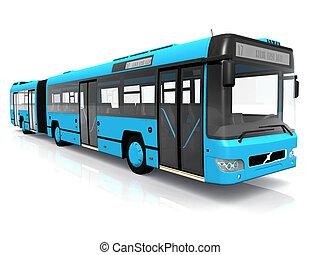 bus, vervoer, publiek