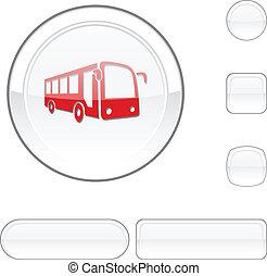 Bus white button.