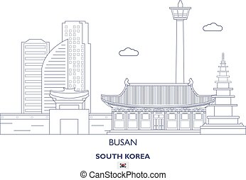 Busan Linear City Skyline, South Korea