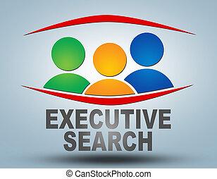 busca, executivo