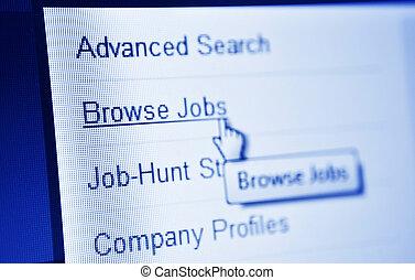 busca, trabalhos
