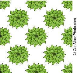 busch, satz, grün