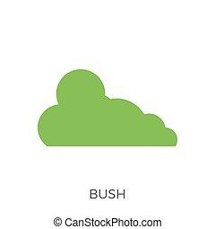 Bush Icon Vector
