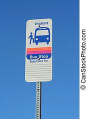 bushaltestelle, zeichen