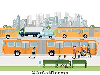 Bushaltestelle.eps