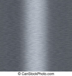 Bushed metalic aluminum seamless repeating background -...