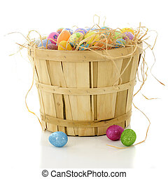 Bushel Basket Full of Easter