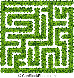 Bushes maze - ???????? ????????? ? ??????? ?????