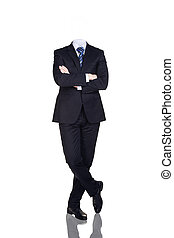 Businesman without head
