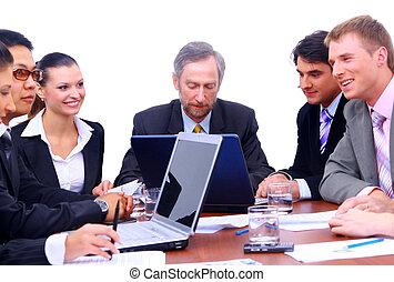 Business, équipe