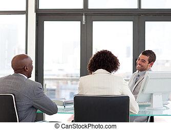 business četa, do, jeden, setkání