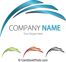 (business), 公司, 设计, 标识语