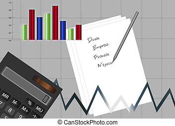 Business abstract background |