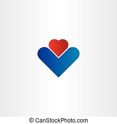 business abstract heart icon