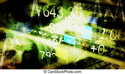 Looping Business Animated Background