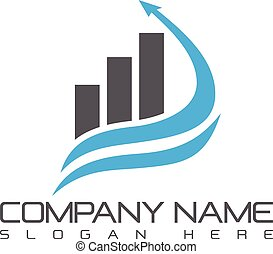 Business abstract symbol