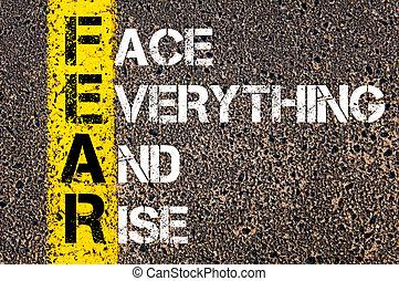 Business Acronym FEAR