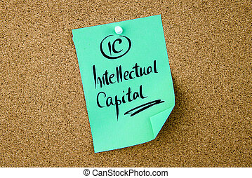 Business Acronym IC Intellectual Capital