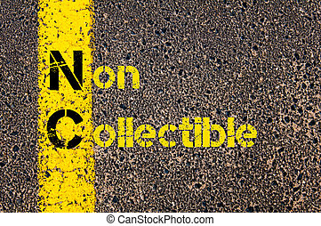 Business Acronym NC as Non Collectible