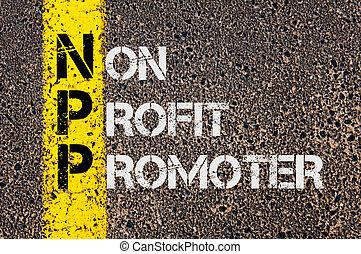 Business Acronym NPP as Non Profit Promoter - Business...