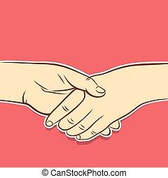business agreement design concept