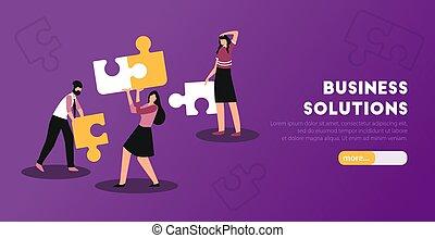 Business Analytics Horizontal Banner