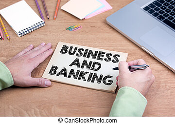 Business and Banking concept
