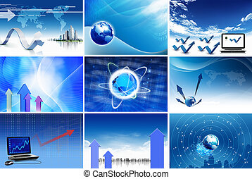 Business and communications concept