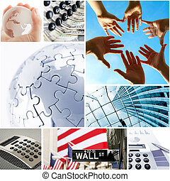 business and global communication concept
