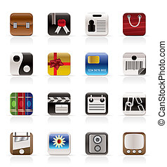 Business and Internet Icons