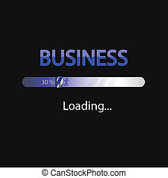 business and money loading backgrou