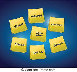 Business and organizational diagram illustration design over...
