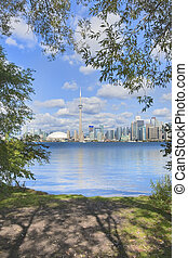 Business and recreation. - Latest update on Toronto skyline...