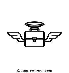 business angel illustration design