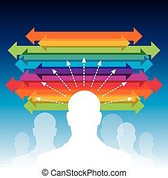 business arrow concept