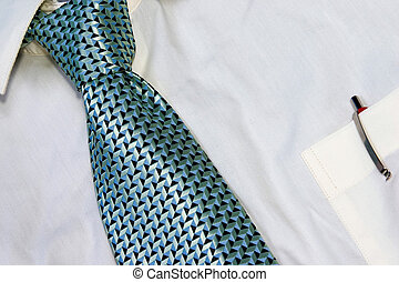 Business Attire - DRESS SHIRT AND TIE