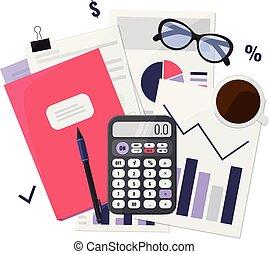 Business audit concept.