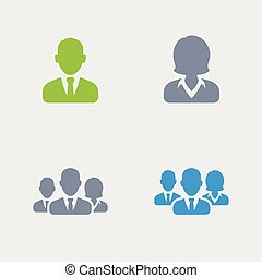 Business Avatars - Granite Icons