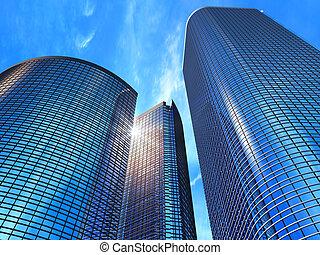 business, bâtiments
