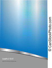 business background blue and grey with dotted pattern, ...