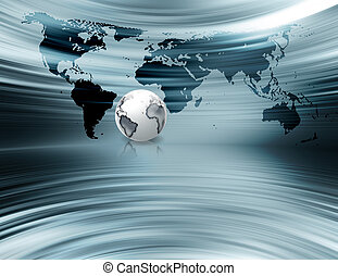 business background - abstract metal business background...