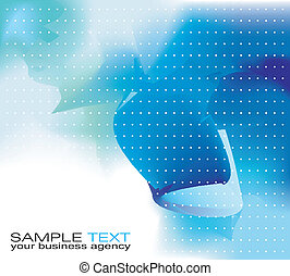 Business Background - Abstract delicate business background...