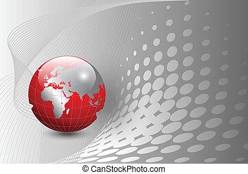 business  background - vector illus